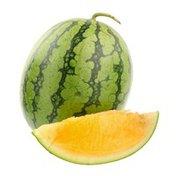Orange Inside Seedless Watermelon