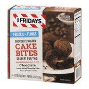 T.G. I. Friday's T.G.I. Fridays Frozen Flings Chocolate Molten Cake Bites Chocolate - 4 CT