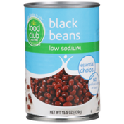 Food Club Low Sodium Black Beans