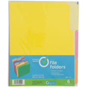 Simply Done File Folders, Color