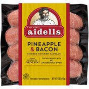 Aidells Smoked Chicken Sausage, Pineapple & Bacon