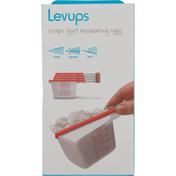Dreamfarm Levups, Clear/Red