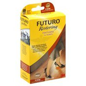 FUTURO Pantyhose, For Women, Brief Cut, Large, Nude, Firm Compression
