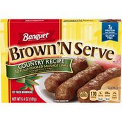 Banquet Brown N Serve Country Recipe Sausage Links