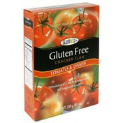 Glutino Cracker Flax, Gluten Free, Tomato & Onion