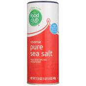 Food Club Coarse Pure Sea Salt