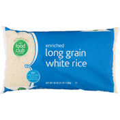 Food Club White Rice, Long Grain, Enriched