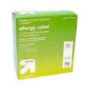 Up&Up Original Prescription Strength Allergy Relief Cetrizine Hydrochloride Tablets, 10mg/antihistamine