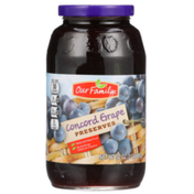 Our Family Concord Grape Preserves