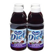 Ocean Spray Diet Cranberry Grape Juice - 4 PK