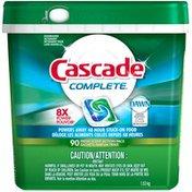 Cascade Complete ActionPacs Dishwasher Detergent Fresh Scent 90 Ct  Dish Care