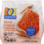 O Organics Carrots, Riced Organic, with Sea Salt