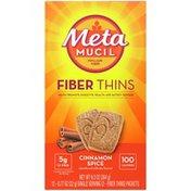 Metamucil Fiber Thins, Psyllium Husk Fiber Supplement, Digestive Health Support
