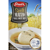 Streit's Matzo Ball Soup Mix, Spelt