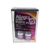 Allegra Allergy Tablet Bottle