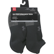 Under Armour Adult Performance Tech Now Show Socks 6 Pack