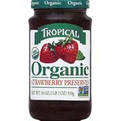 Tropical Preserves, Organic, Strawberry