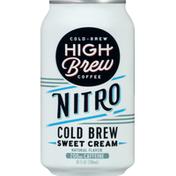 High Brew Coffee, Cold-Brew, Sweet Cream