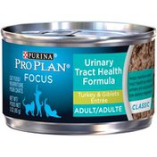 Purina Pro Plan Urinary Tract Health Formula Turkey & Giblets Entree Adult Cat Food