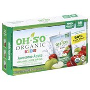 Oh So Juice, Awesome Apple, Organic, Kids, 8 Pack, Box