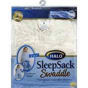 Halo Wearable Blanket, with Swaddle, Newborn (6 to 12 Pounds), 19-23 Inches