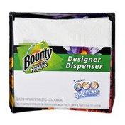 Bounty Designer Dispenser Quilted Napkins - 50 CT