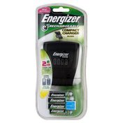 Energizer Charger, Compact, AA/AAA