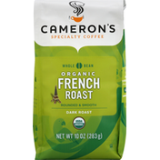 Camerons Coffee, Organic, Whole Bean, Dark Roast, French Roast