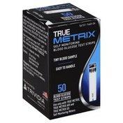 True Metrix Test Strips, Blood Glucose, Self Monitoring
