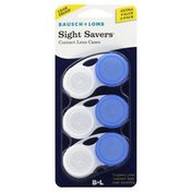 Bausch & Lomb Contact Lens Cases, Fashion, Extra Value 3 Pack
