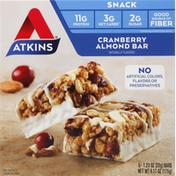 Atkins Snack Bar, Cranberry Almond