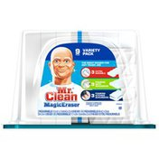 Mr. Clean Magic Eraser Mr. Clean Magic Eraser Sponge Variety Pack & Tub Cleaner 9ct. Surface Care