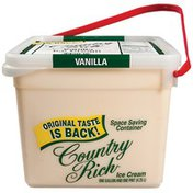 Country Rich Vanilla Flavored Sg Ice Cream