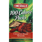 Emerald Supplements Almonds, Cinnamon Roast