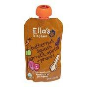 Ella's Kitchen Organic 4 Months Butternut Squash, Carrots, Apples + Prunes