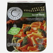 Culinary Circle Steamy Vegetables, Savory Blend