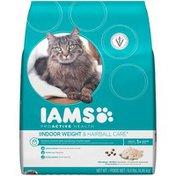IAMS Proactive Health Indoor Weight & Hairball with Chicken Cat Food