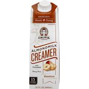 Califia Farms Hazelnut Almondmilk Creamer