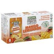 Smart Kids Juice, Organic, Mango Lemonade