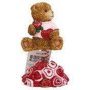 Publix Valentine Wobble Bear, Polyresin Decoration