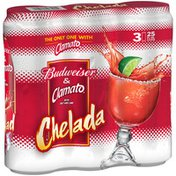Budweiser Chelada with Clamato, Beer Cans