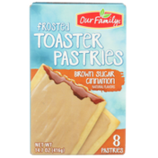 Our Family Frosted Brown Sugar Cinnamon Toaster Pastries