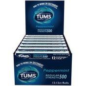 Abreva Regular Strength 500 Peppermint Chewable Tablets Antacid