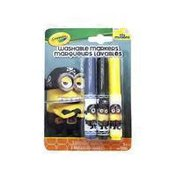 Crayola Bl Pipsqueak Minion Eye Matie Washable Markers