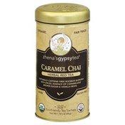 Zhenas Tea, Herbal Red Tea, Caramel Chai, Organic, Vegan, Gluten Free, Can