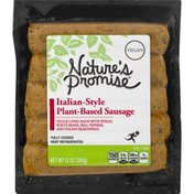Nature's Promise Sausage, Plant-Based, Italian-Style
