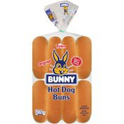 Bunny Bread Original Hot Dog Buns