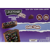 Legendary Foods Tasty Pastry, Chocolate Cake Flavored, 12 Pack