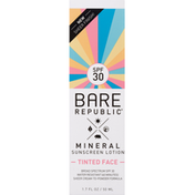 Bare Republic Tinted Face Mineral Sunscreen Lotion