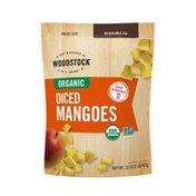 WOODSTOCK Organic Diced Mangos